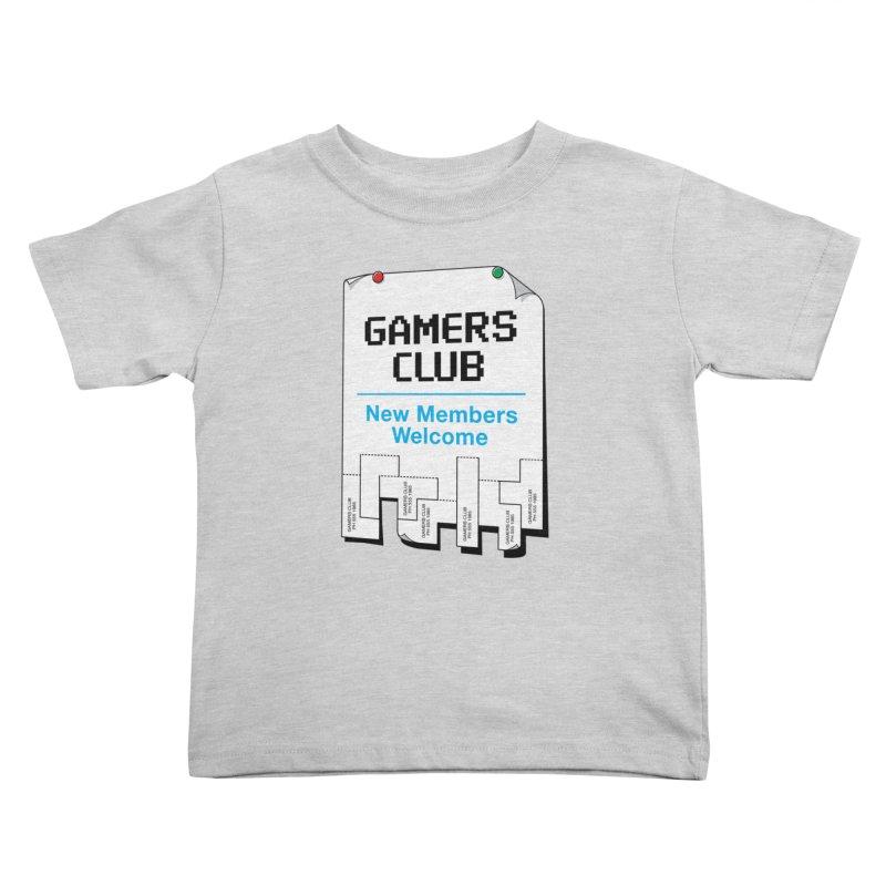 Gamer's Club Kids Toddler T-Shirt by glennz's Artist Shop