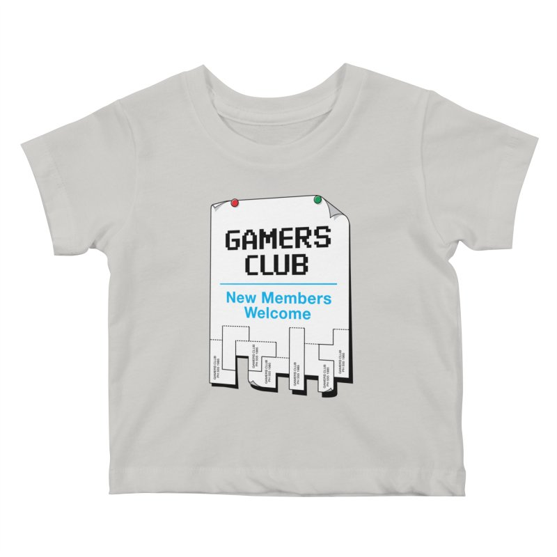 Gamer's Club Kids Baby T-Shirt by glennz's Artist Shop