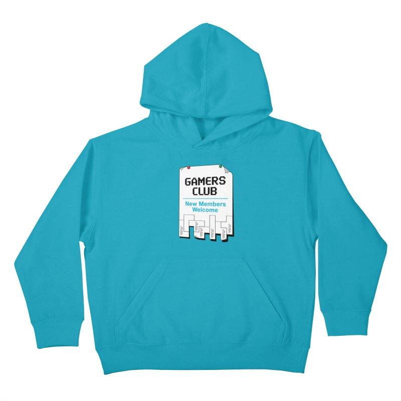 Gamer's Club Kids Pullover Hoody by glennz's Artist Shop