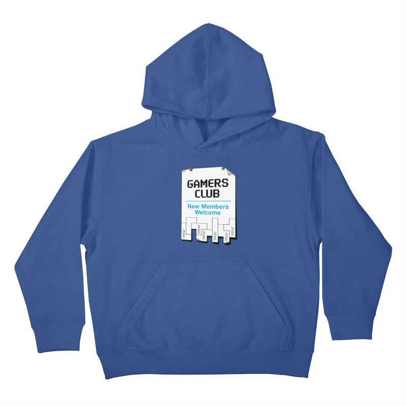 Gamer's Club Kids Pullover Hoody by glennz's Artist Shop