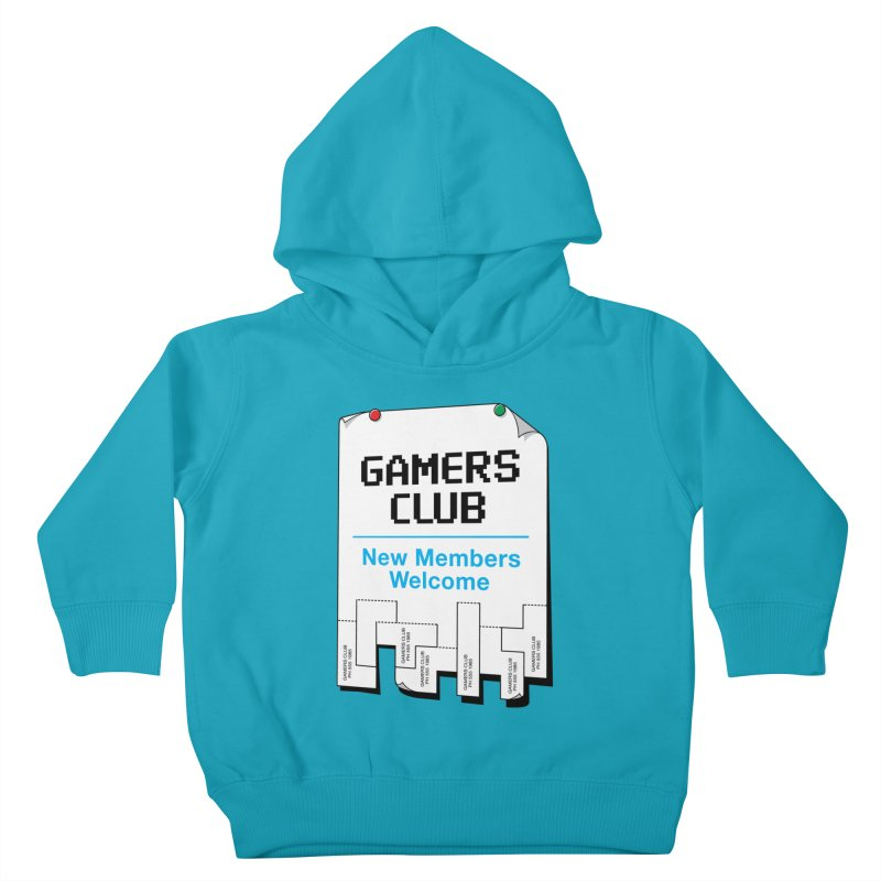 Gamer's Club Kids Toddler Pullover Hoody by glennz's Artist Shop