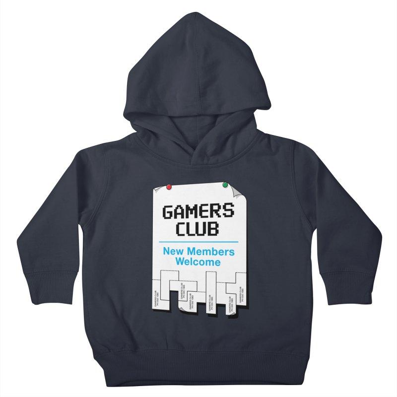 Gamer's Club Kids Toddler Pullover Hoody by glennz's Artist Shop