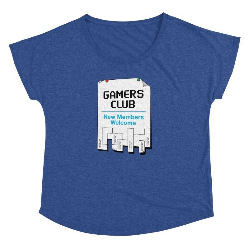 Gamer's Club Women's Dolman by glennz's Artist Shop