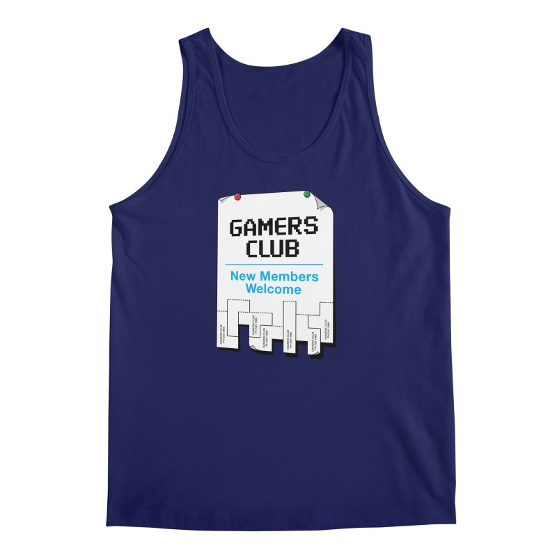 Gamer's Club Men's Tank by glennz's Artist Shop