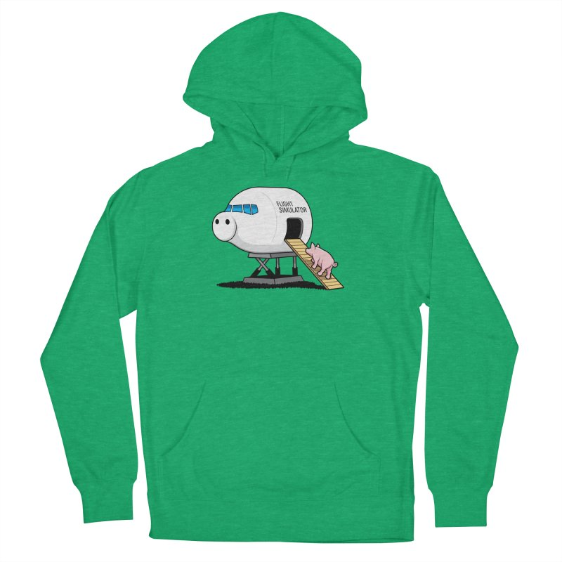 Learning to Fly Women's French Terry Pullover Hoody by glennz's Artist Shop