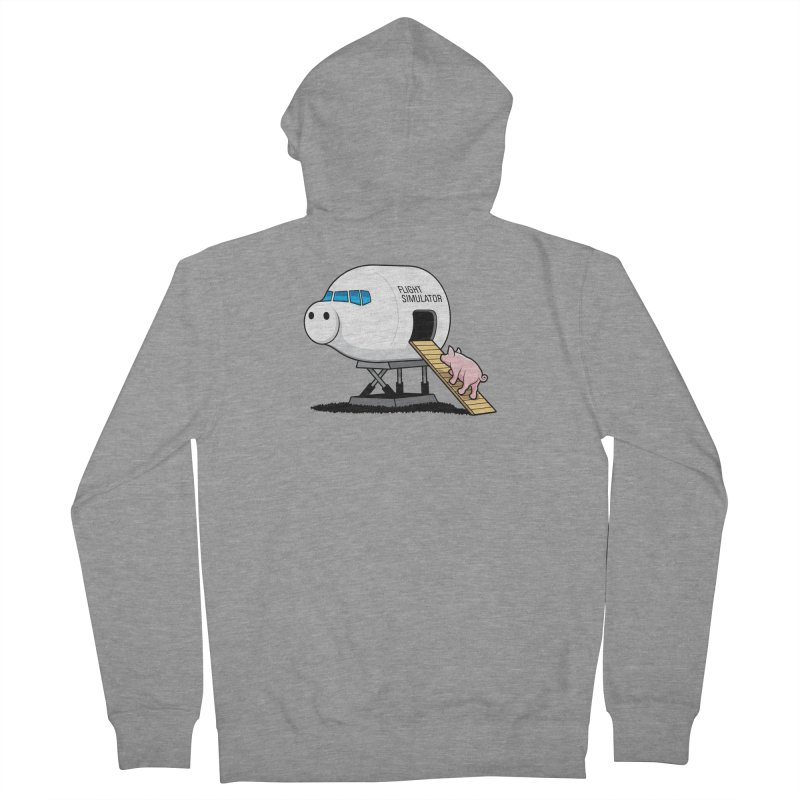 Learning to Fly Women's Zip-Up Hoody by glennz's Artist Shop