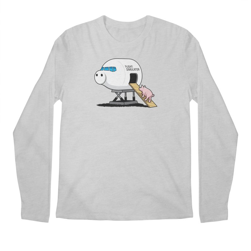 Learning to Fly Men's Longsleeve T-Shirt by glennz's Artist Shop