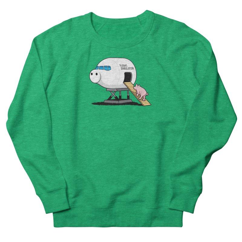 Learning to Fly Women's Sweatshirt by glennz's Artist Shop