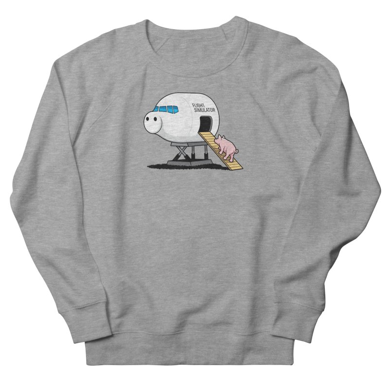 Learning to Fly Women's French Terry Sweatshirt by glennz's Artist Shop
