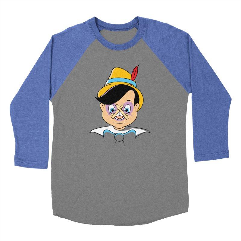 Nose Job Women's Baseball Triblend T-Shirt by glennz's Artist Shop