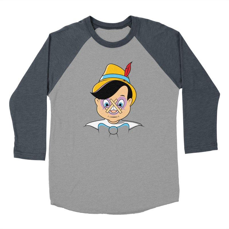 Nose Job Men's Baseball Triblend T-Shirt by glennz's Artist Shop