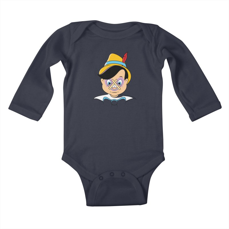 Nose Job Kids Baby Longsleeve Bodysuit by glennz's Artist Shop