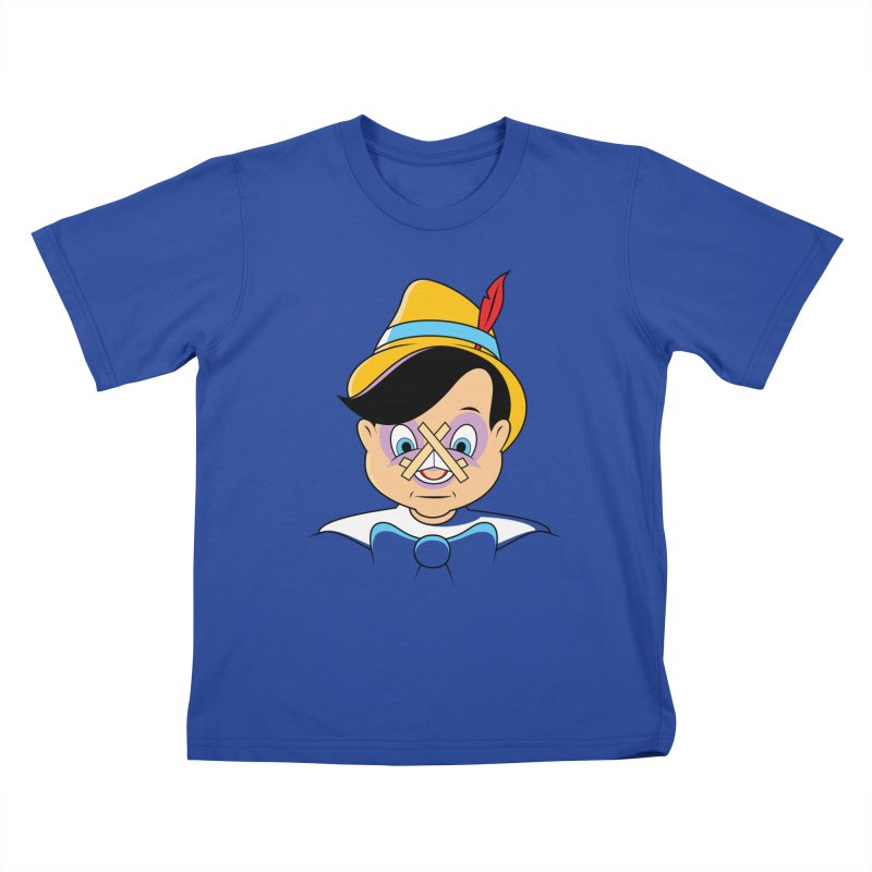 Nose Job Kids T-Shirt by glennz's Artist Shop