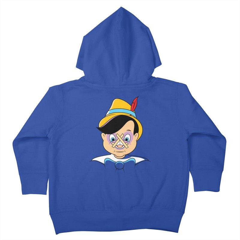 Nose Job Kids Toddler Zip-Up Hoody by glennz's Artist Shop