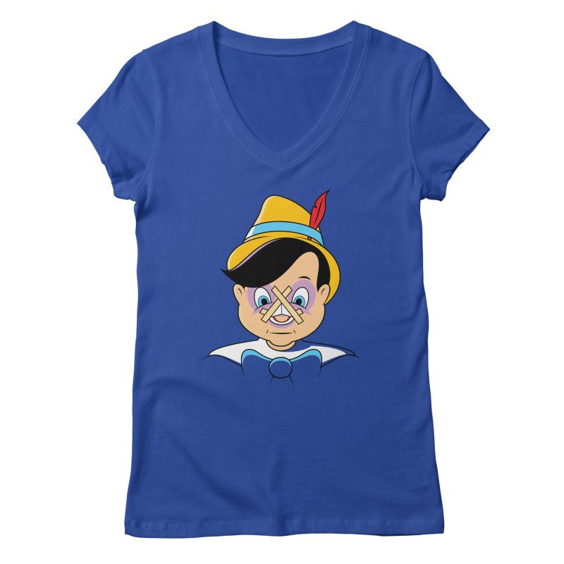 Nose Job Women's V-Neck by glennz's Artist Shop