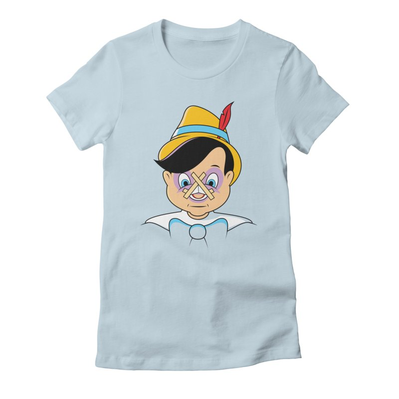 Nose Job Women's Fitted T-Shirt by glennz's Artist Shop