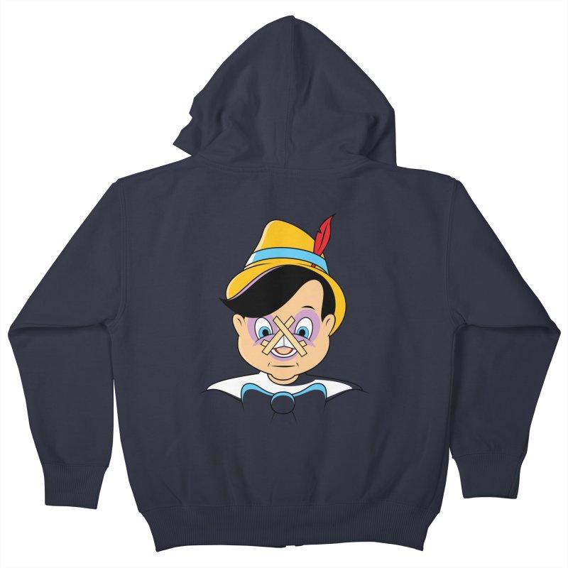 Nose Job Kids Zip-Up Hoody by glennz's Artist Shop