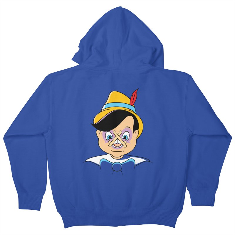 Nose Job Kids Zip-Up Hoody by glennz's Artist Shop