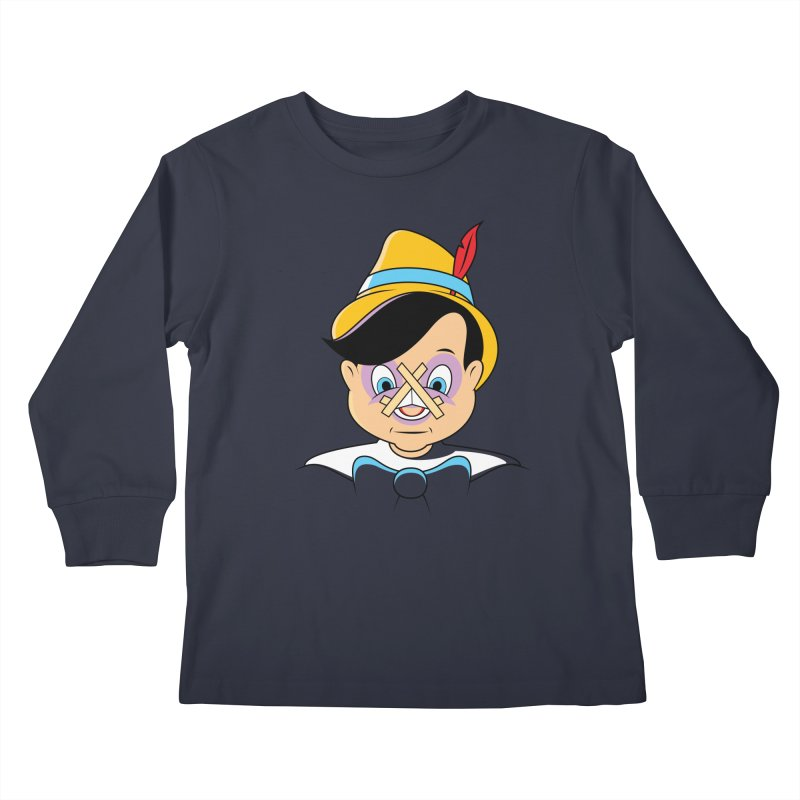 Nose Job Kids Longsleeve T-Shirt by glennz's Artist Shop