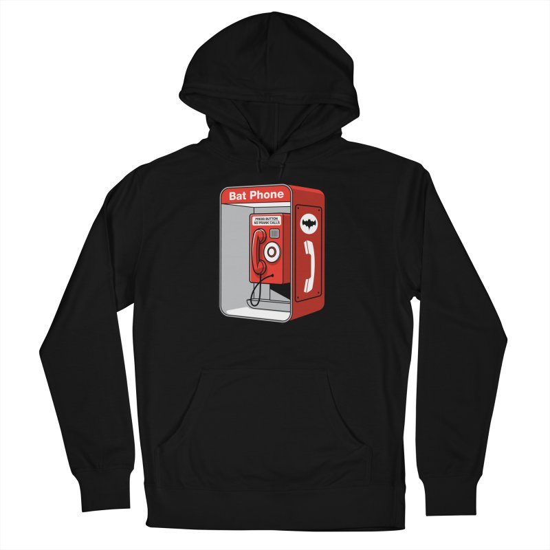 Public Bat Phone Women's French Terry Pullover Hoody by glennz's Artist Shop
