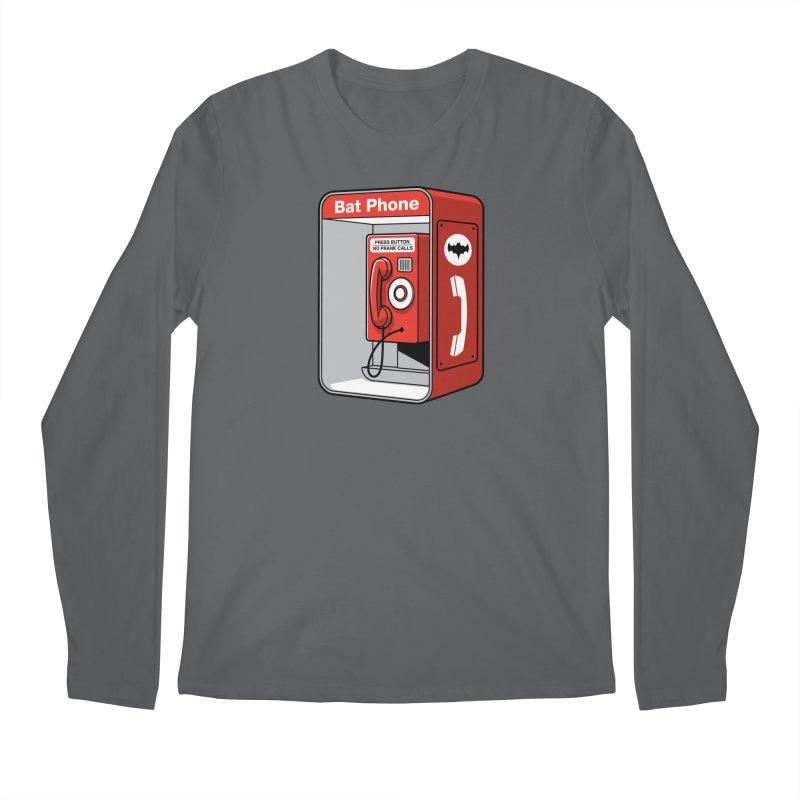 Public Bat Phone Men's Longsleeve T-Shirt by glennz's Artist Shop