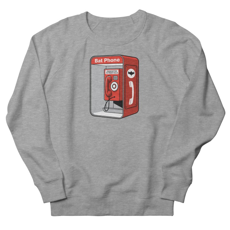 Public Bat Phone Women's Sweatshirt by glennz's Artist Shop