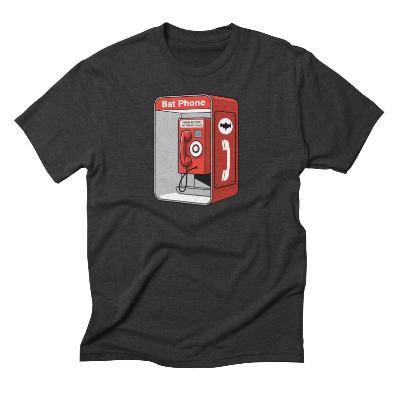Public Bat Phone Men's Triblend T-Shirt by glennz's Artist Shop