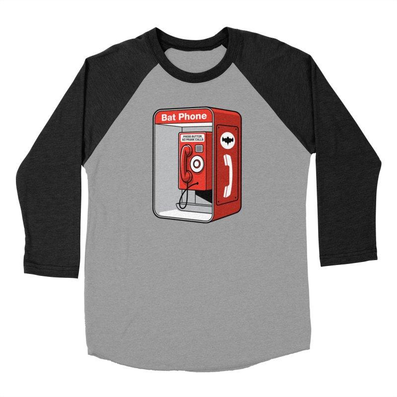 Public Bat Phone Women's Baseball Triblend T-Shirt by glennz's Artist Shop