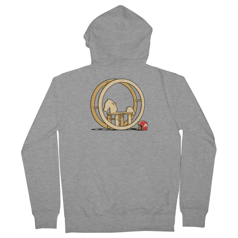Rock and Roll Women's French Terry Zip-Up Hoody by glennz's Artist Shop