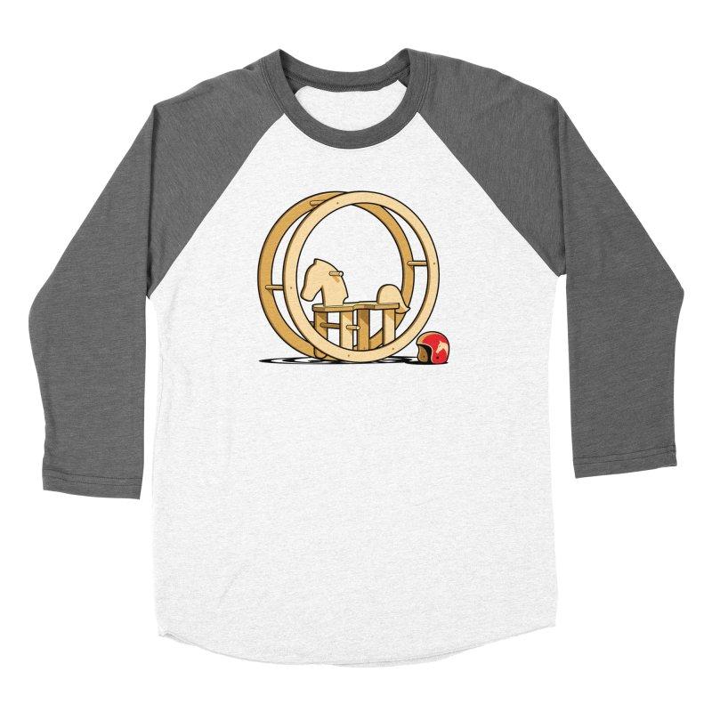 Rock and Roll Women's Baseball Triblend T-Shirt by glennz's Artist Shop
