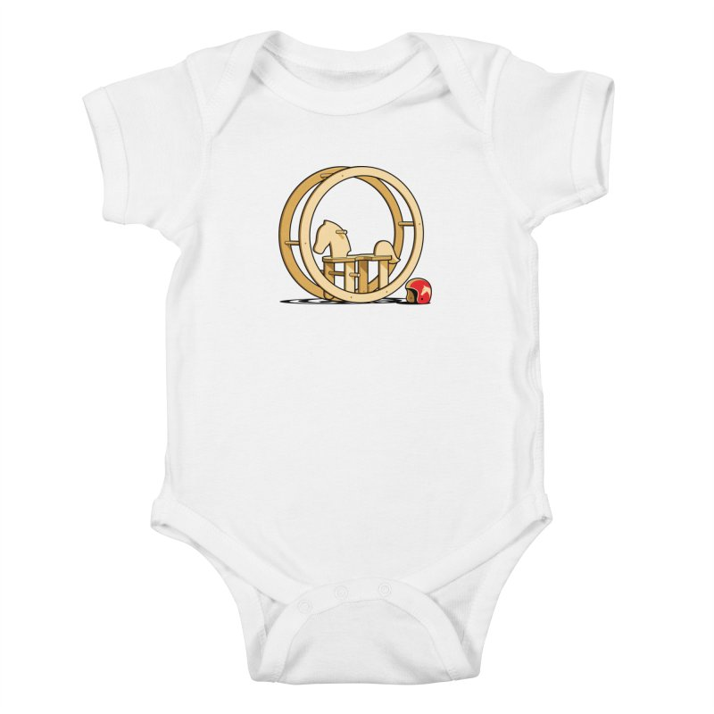 Rock and Roll Kids Baby Bodysuit by glennz's Artist Shop