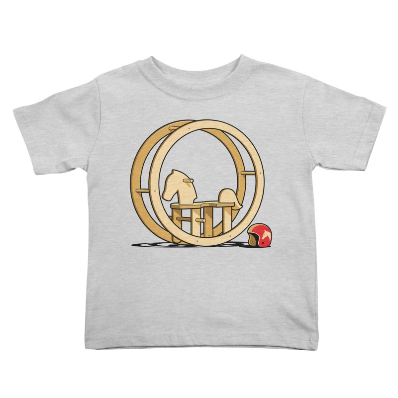 Rock and Roll Kids Toddler T-Shirt by glennz's Artist Shop