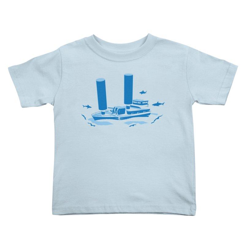 Sunk Kids Toddler T-Shirt by glennz's Artist Shop