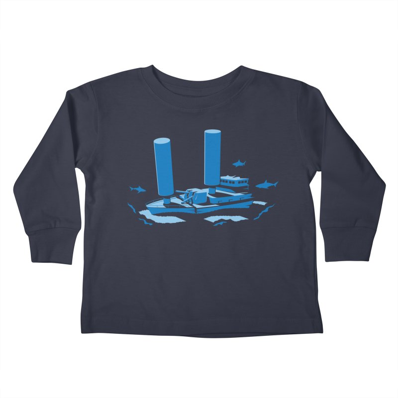 Sunk Kids Toddler Longsleeve T-Shirt by glennz's Artist Shop