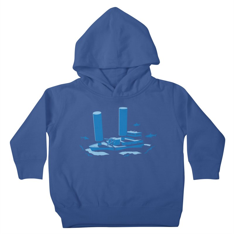 Sunk Kids Toddler Pullover Hoody by glennz's Artist Shop