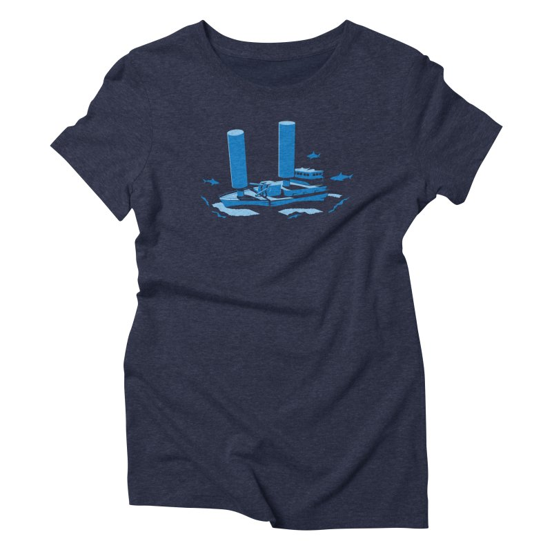Sunk Women's Triblend T-Shirt by glennz's Artist Shop
