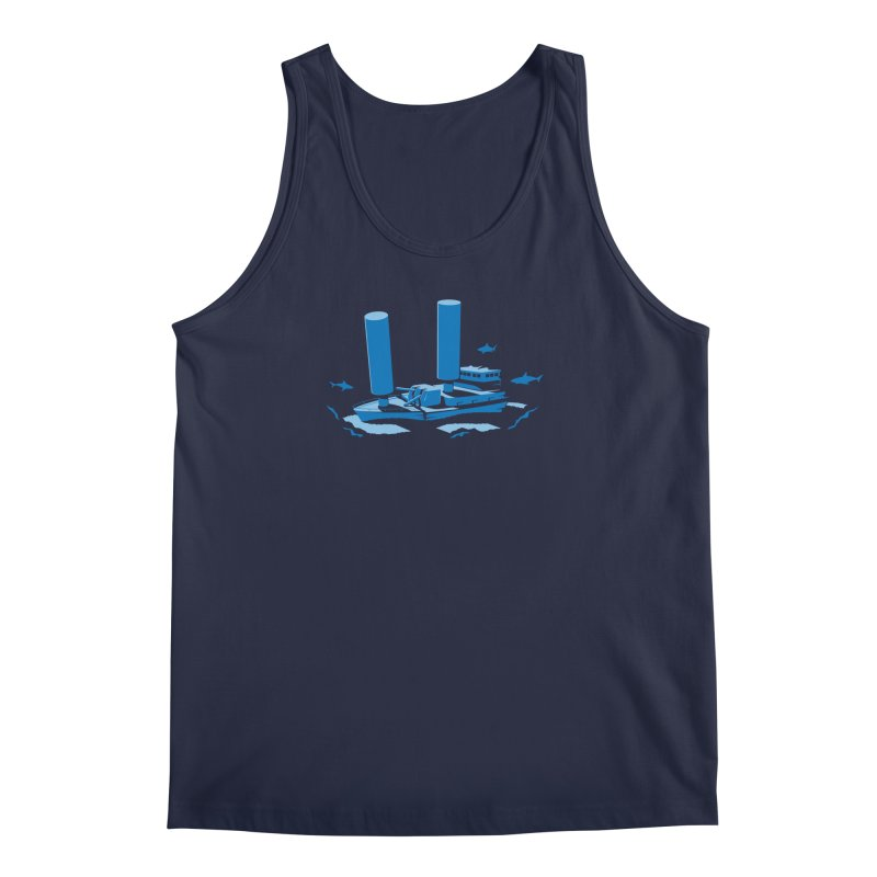 Sunk Men's Tank by glennz's Artist Shop