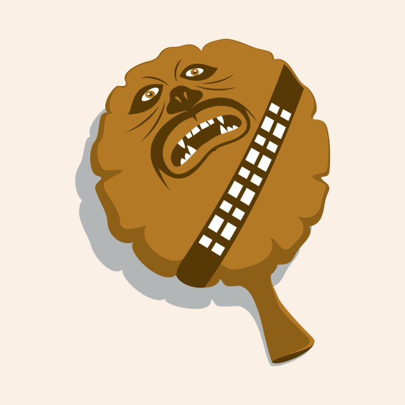 Wookie Cushion   by glennz's Artist Shop