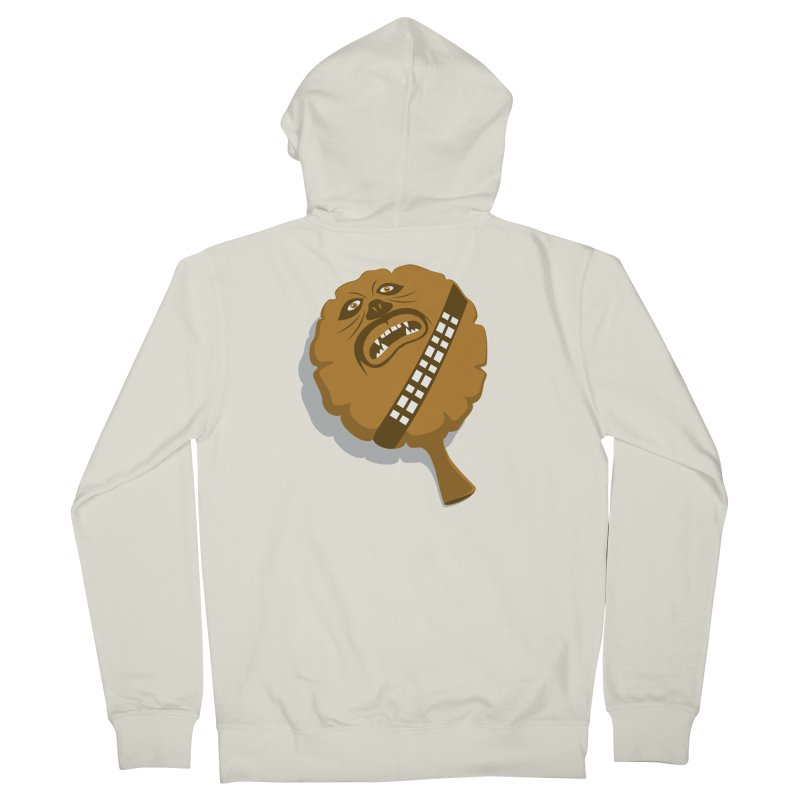 Wookie Cushion Men's French Terry Zip-Up Hoody by glennz's Artist Shop
