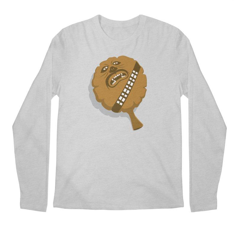 Wookie Cushion Men's Longsleeve T-Shirt by glennz's Artist Shop