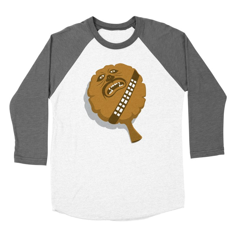 Wookie Cushion Men's Baseball Triblend T-Shirt by glennz's Artist Shop