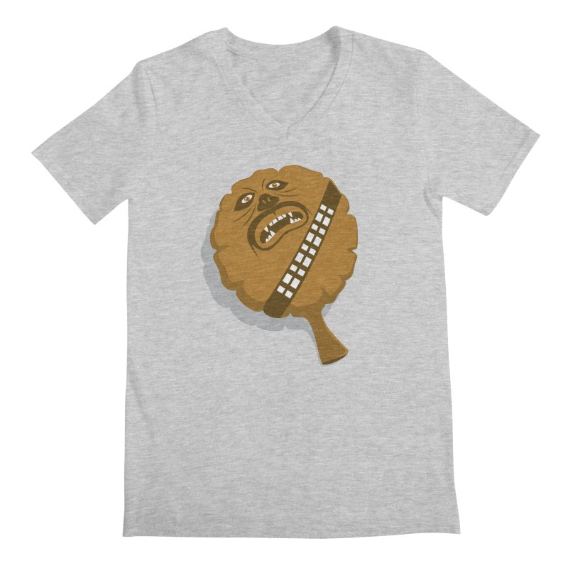 Wookie Cushion Men's Regular V-Neck by glennz's Artist Shop