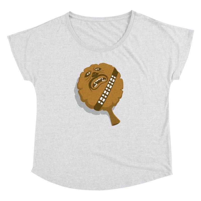 Wookie Cushion Women's Dolman by glennz's Artist Shop