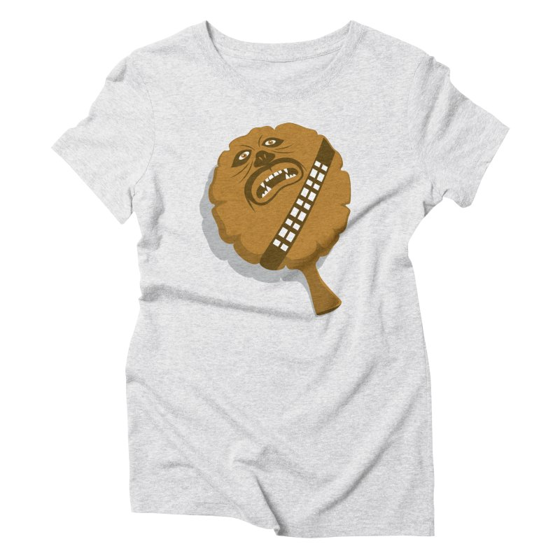 Wookie Cushion Women's Triblend T-Shirt by glennz's Artist Shop