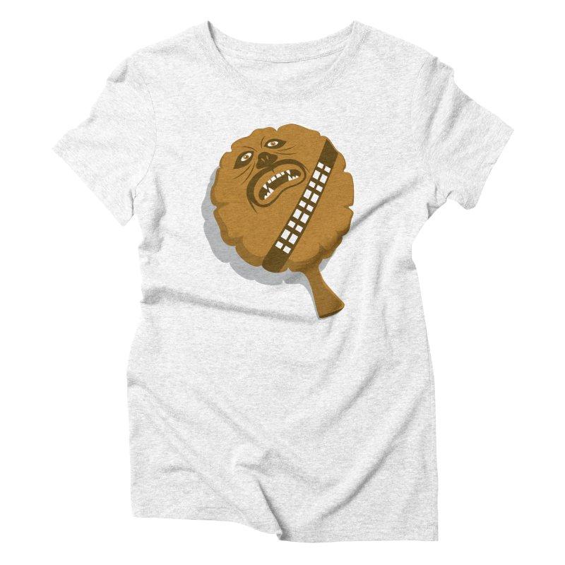 Wookie Cushion Women's Triblend T-shirt by glennz's Artist Shop