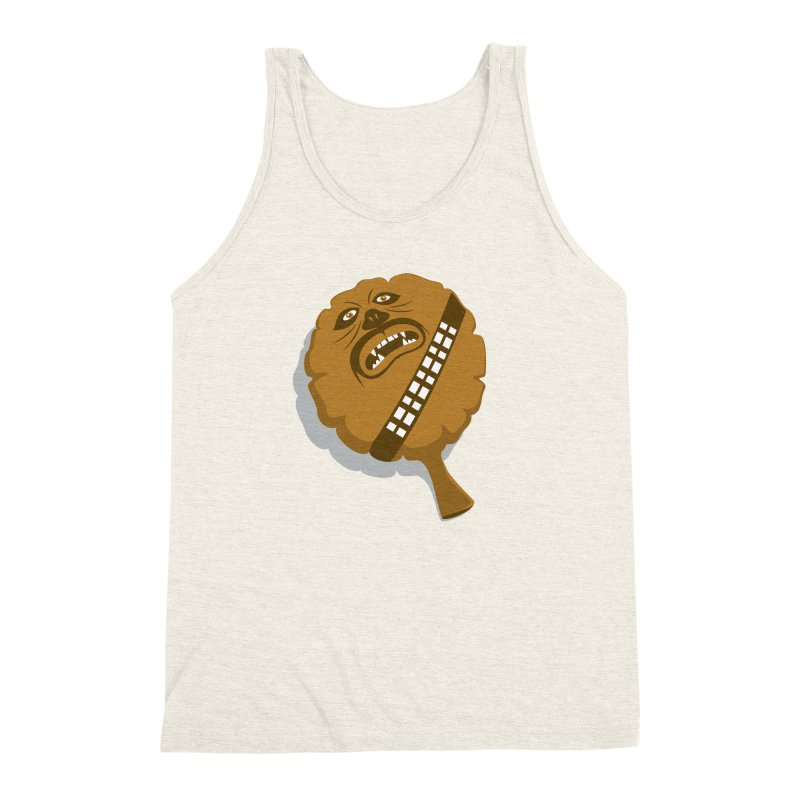 Wookie Cushion Men's Triblend Tank by glennz's Artist Shop