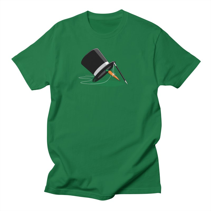 Works Like Magic in Men's T-shirt Kelly Green by glennz's Artist Shop