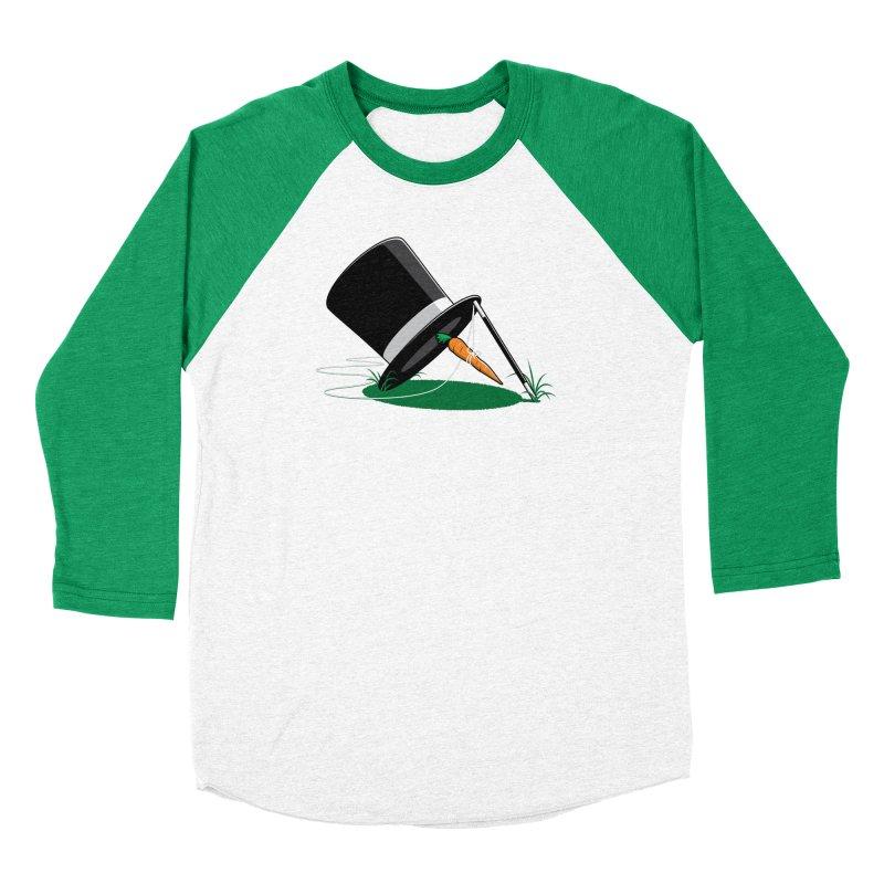 Works Like Magic Women's Baseball Triblend T-Shirt by glennz's Artist Shop