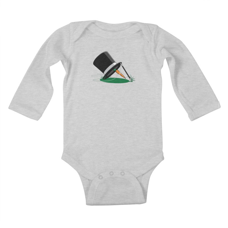 Works Like Magic Kids Baby Longsleeve Bodysuit by glennz's Artist Shop
