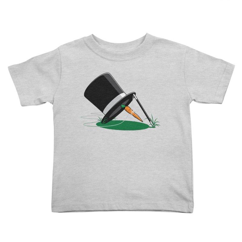 Works Like Magic Kids Toddler T-Shirt by glennz's Artist Shop